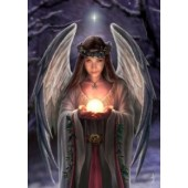 AN12 Anne Stokes, Yuletide Angel