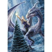AN13 Anne Stokes, Winter Fantasy