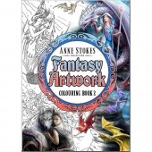 Fantasy Artwork Colouring Book, het Kleurboek van Anne Stokes