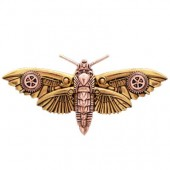Magradore's Moth Brooche van Engineerium