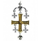 KT09 Knights Templar, Jerusalem Cross