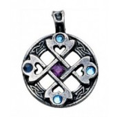 MA01 Nordic Lights, Celtic Cross Heart